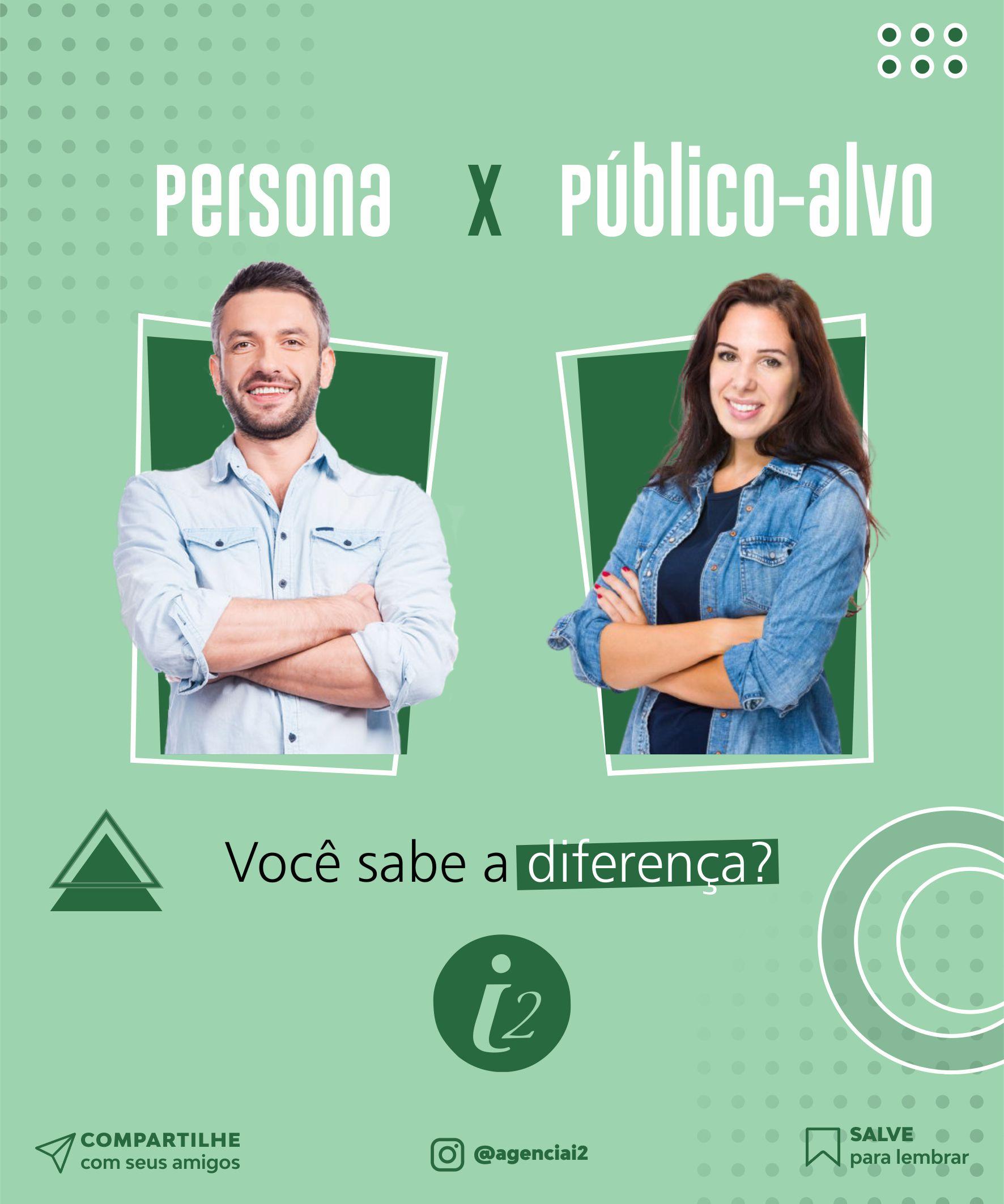 Você sabe a diferença entre persona e público-alvo?